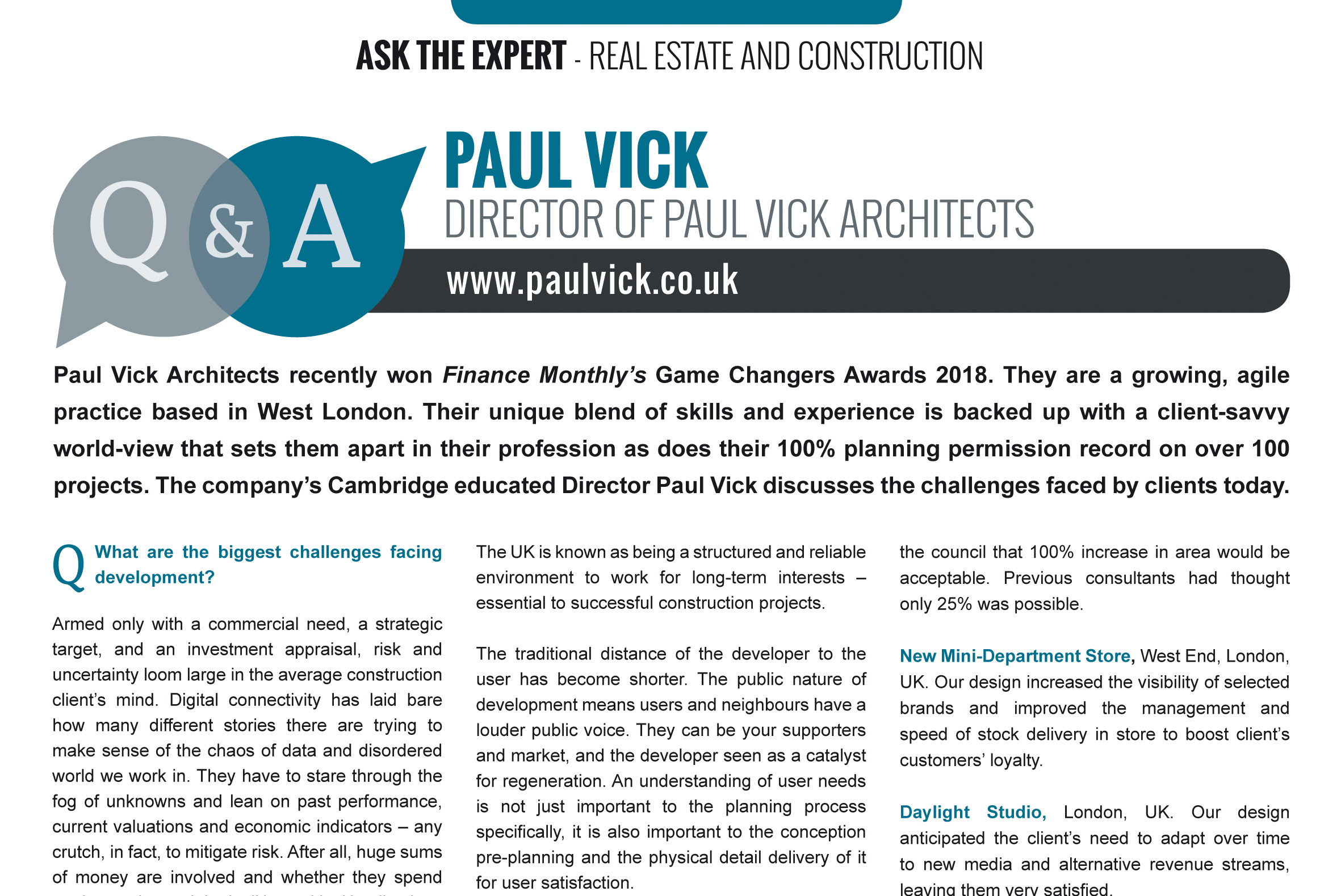 Paul Vick Architects